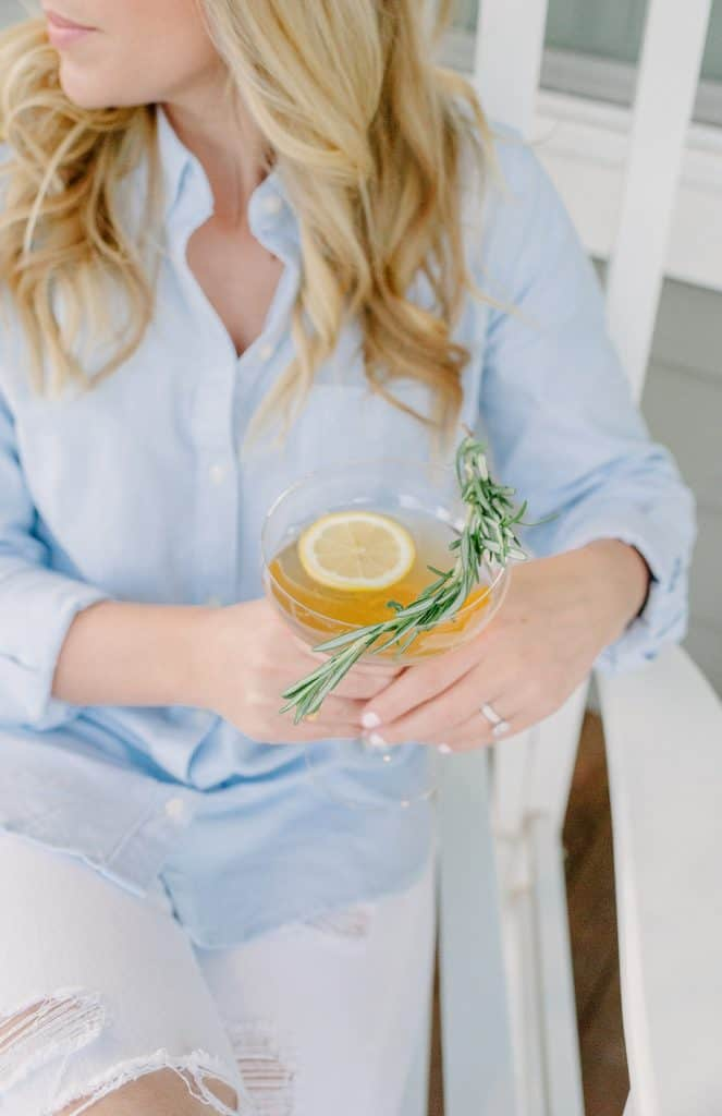 Bourbon Ginger Fizz | Easy Spring Cocktails With Bourbon