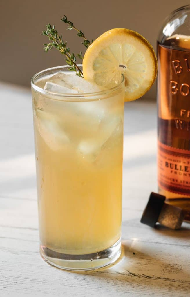 honey thyme lemonade recipe with bourbon