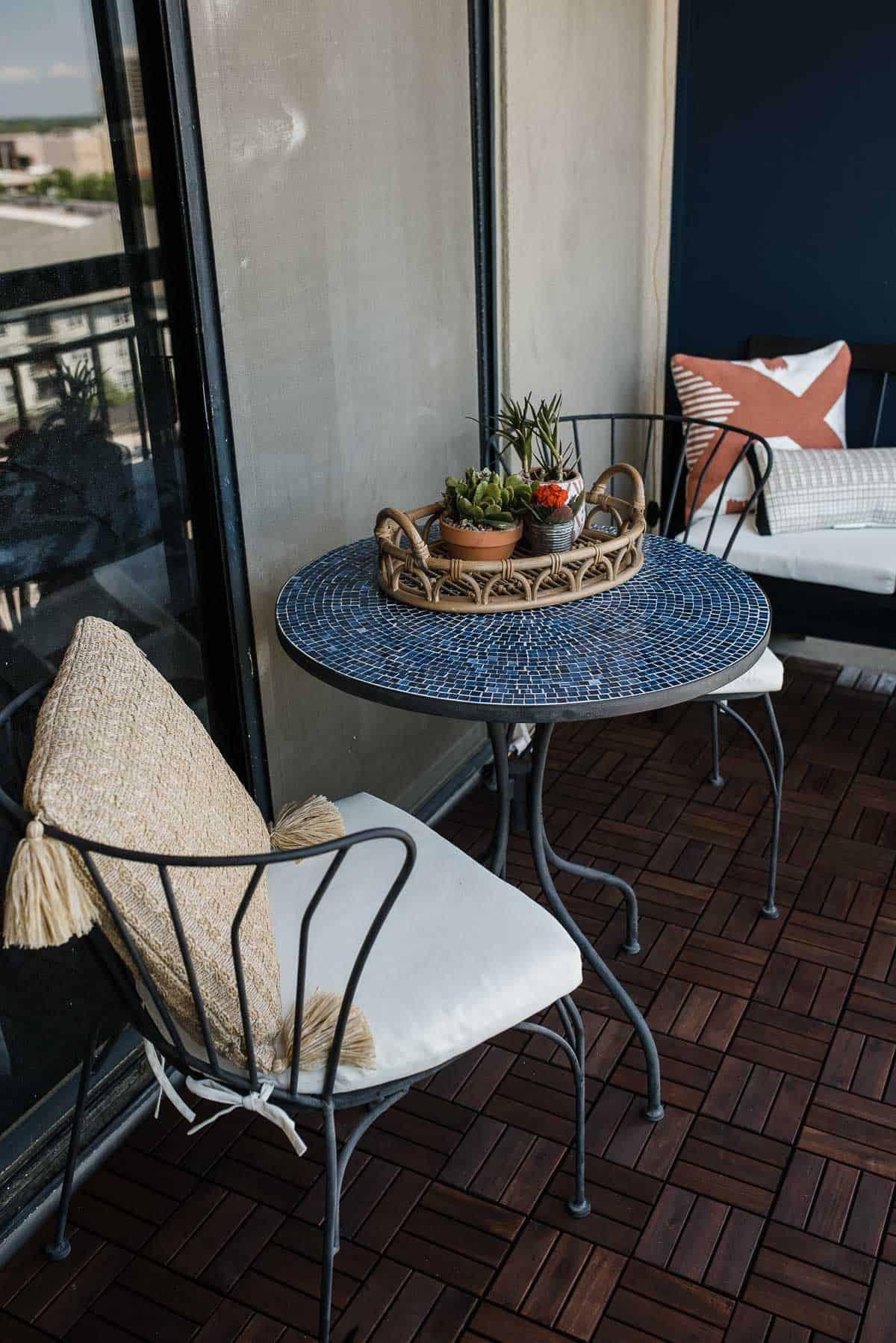 bistro set for patio balcony