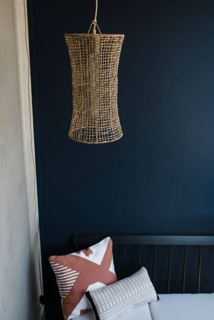 target lighting, rattan chandelier