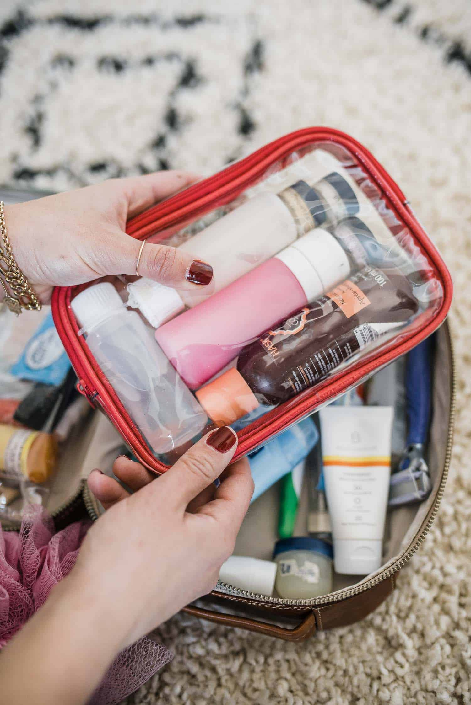 What To Keep In Your Toiletry Bag