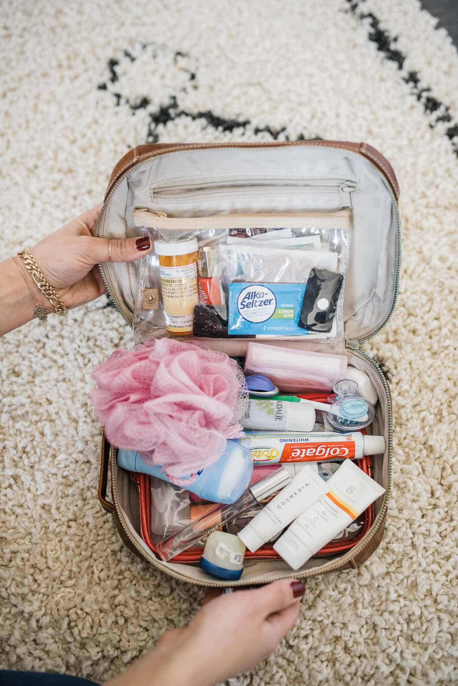 How To Pack A Toiletry Bag The