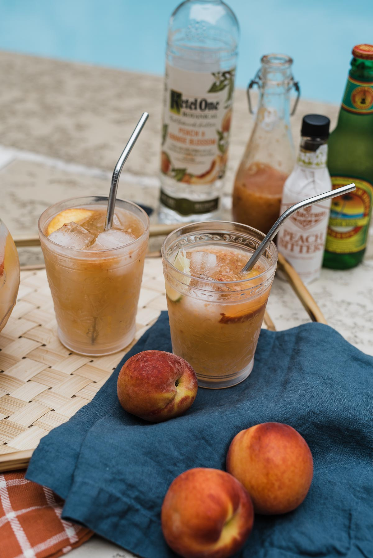 Peach Moscow Mule Recipe - Summer Cocktail