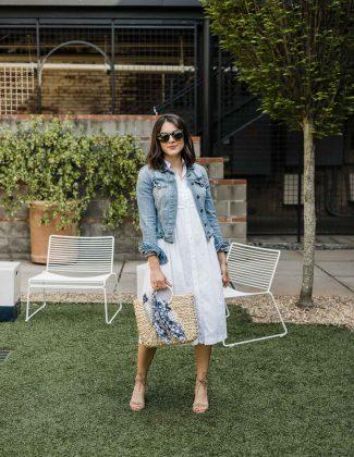 Summer white fashion featured