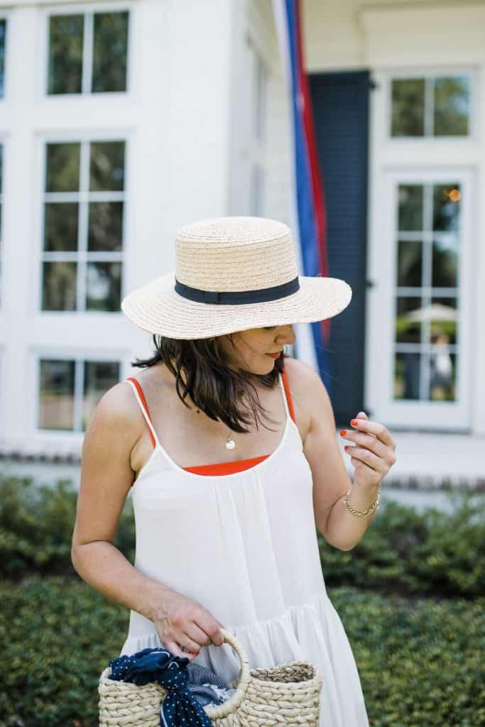 preppy summer hat