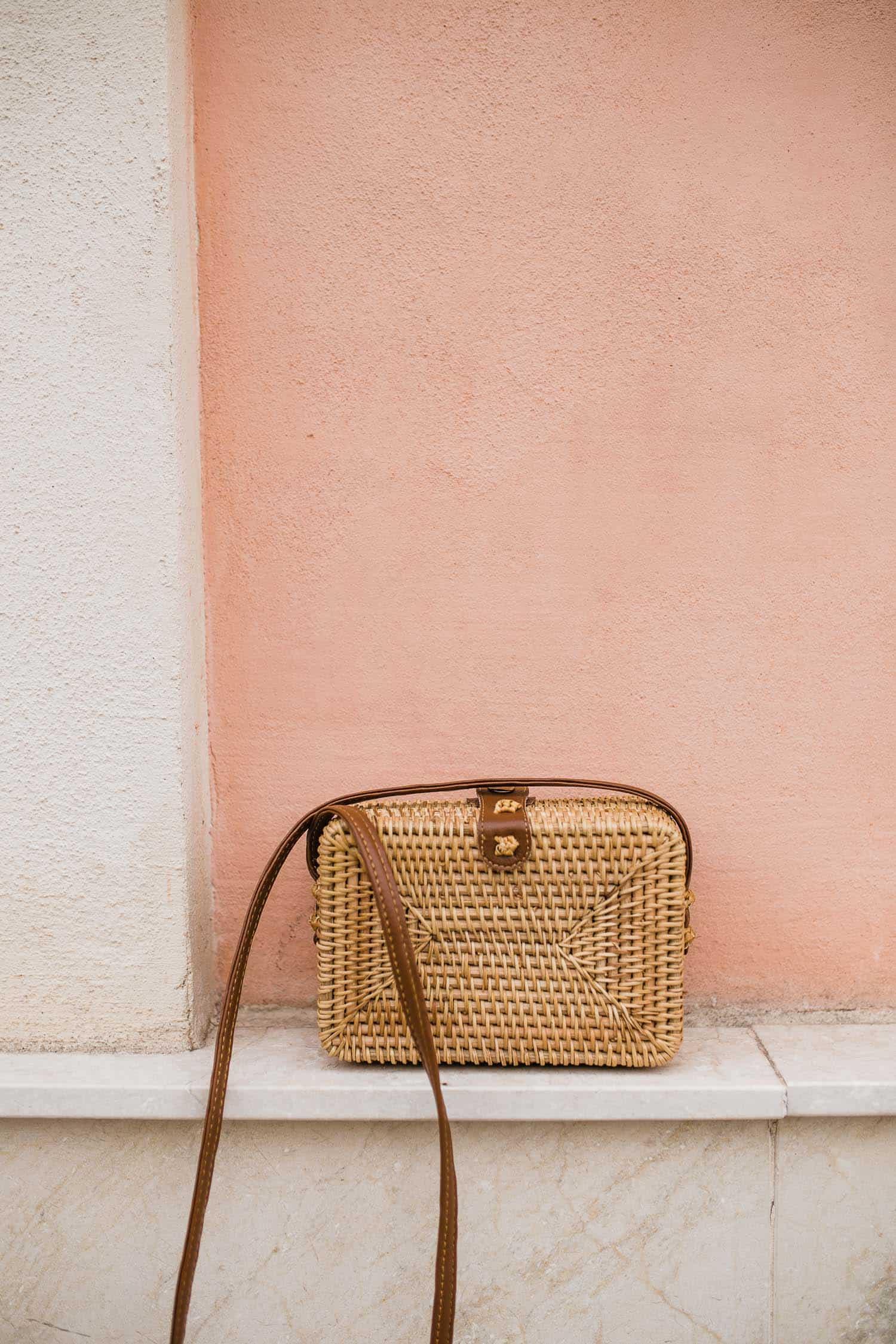 Amazon straw bag