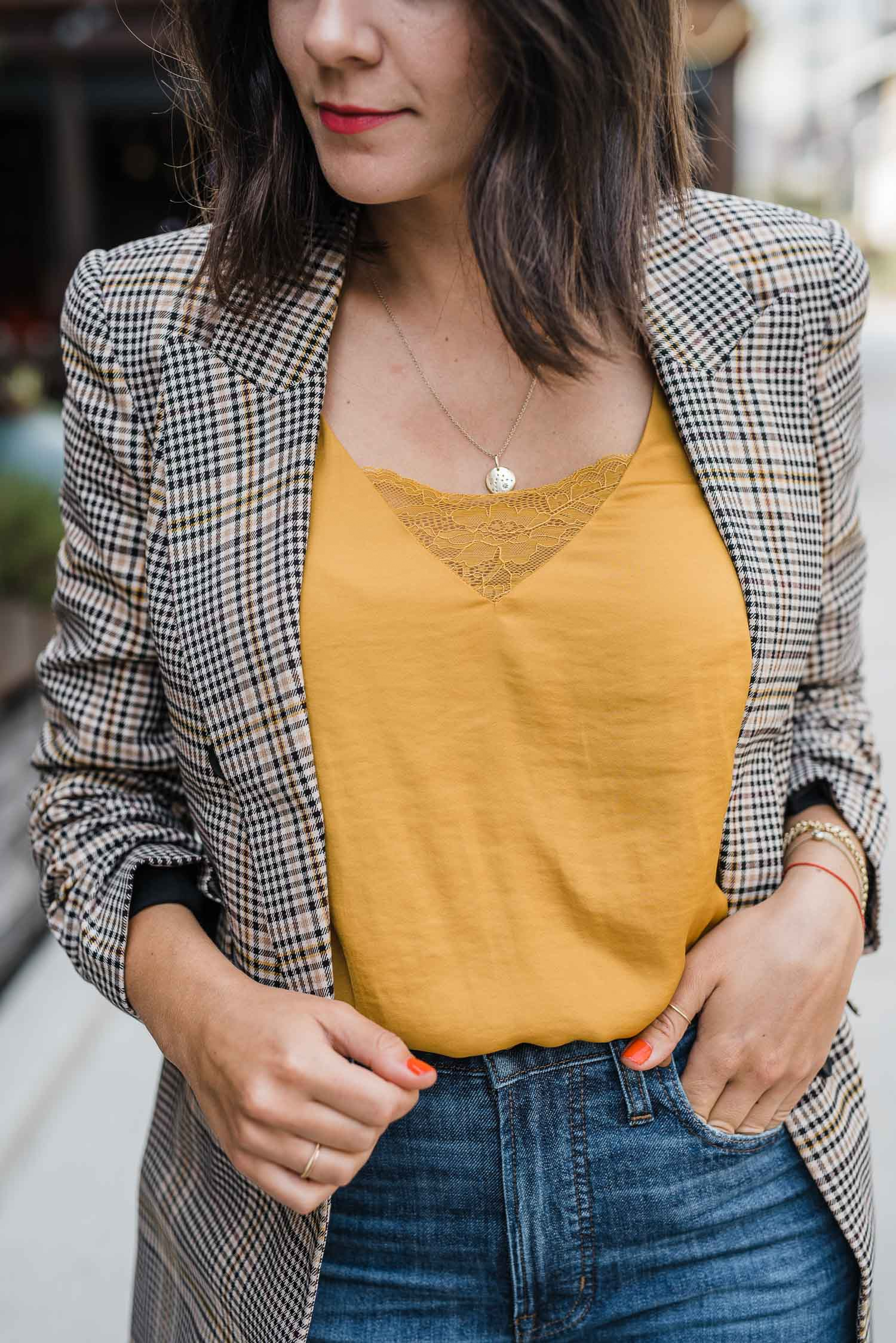 Details in dress help you transition to the fall season