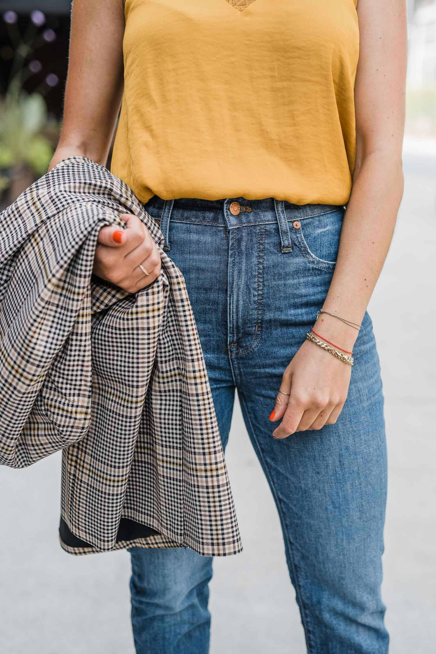 Transition pieces are a must for summer to fall