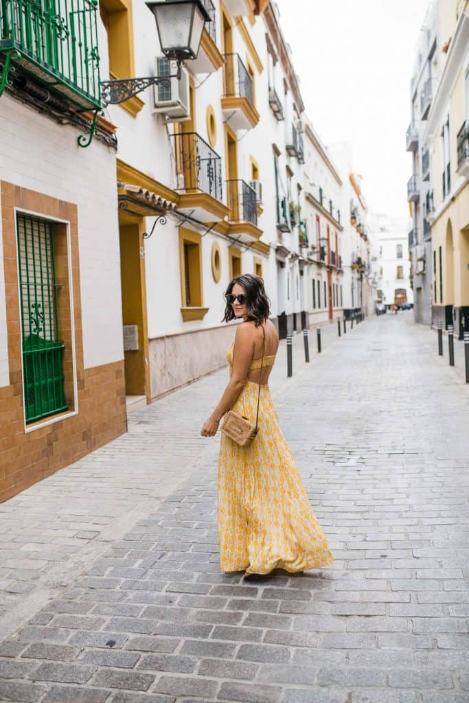 Jessica in Seville In Free People