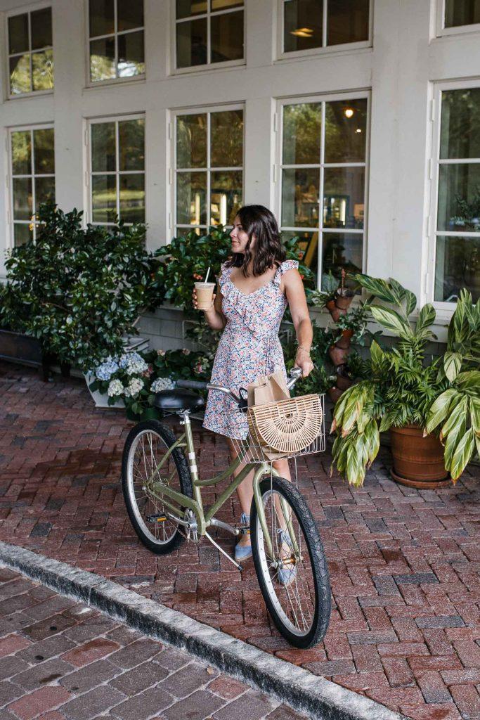 Palmetto Bluff bike ride