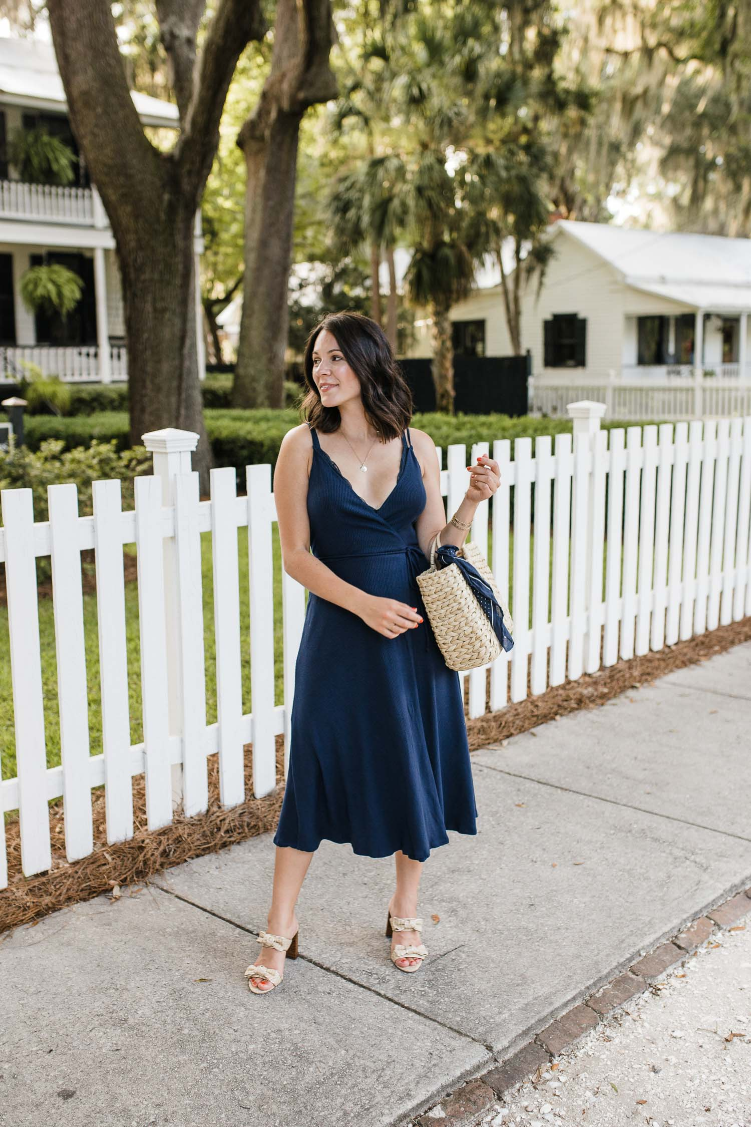 Preppy summer dress