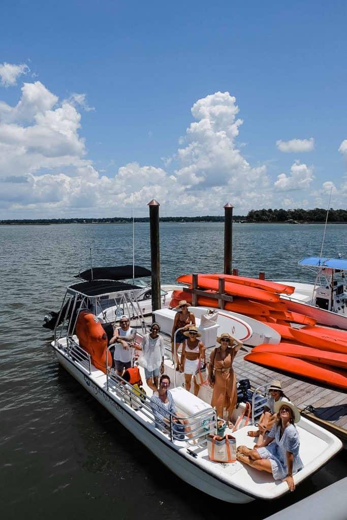 Palmetto Bluff Travel Guide -  boat tour