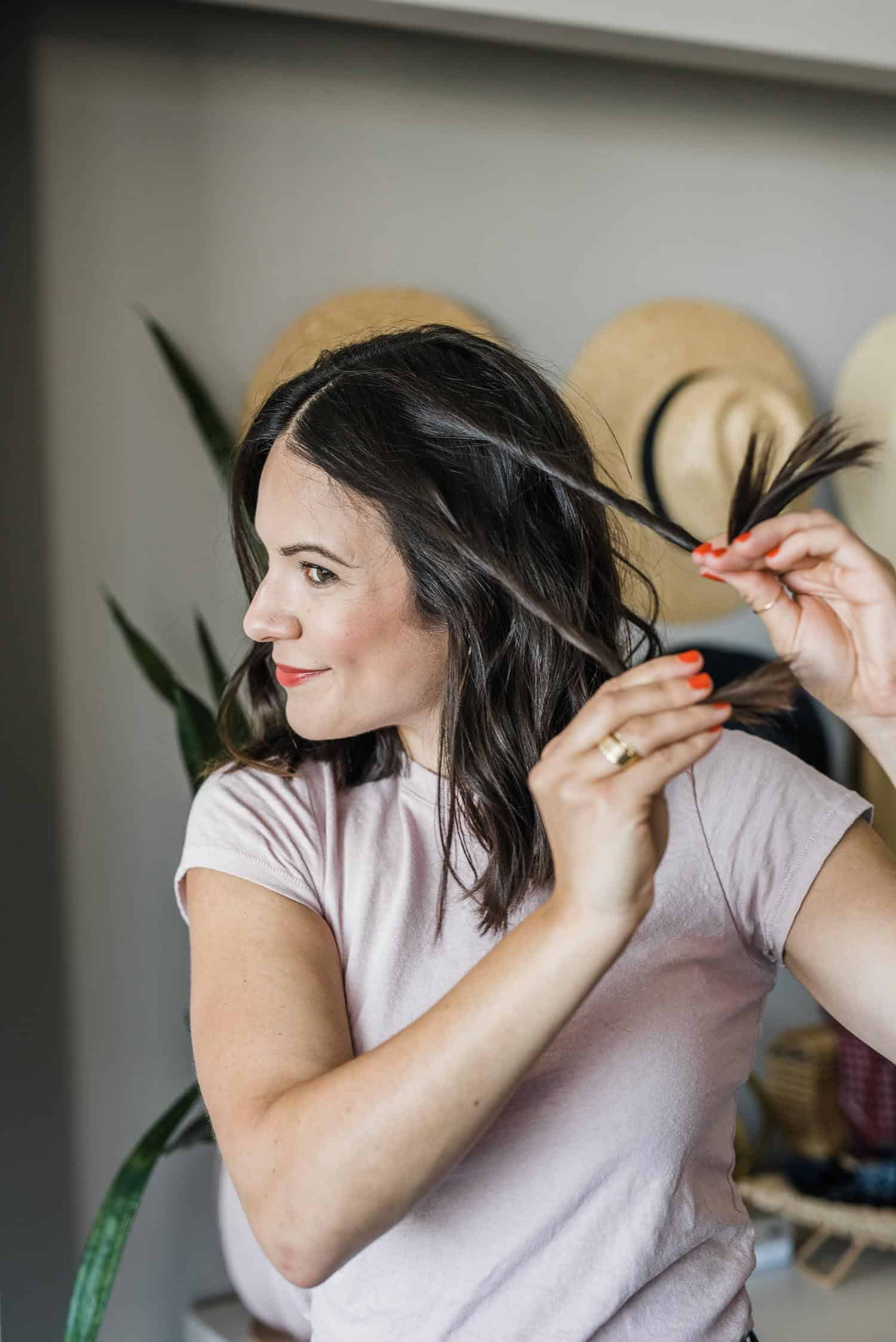The french rope braid hair tutorial is the simplest hairstyle you'll ever recreate.