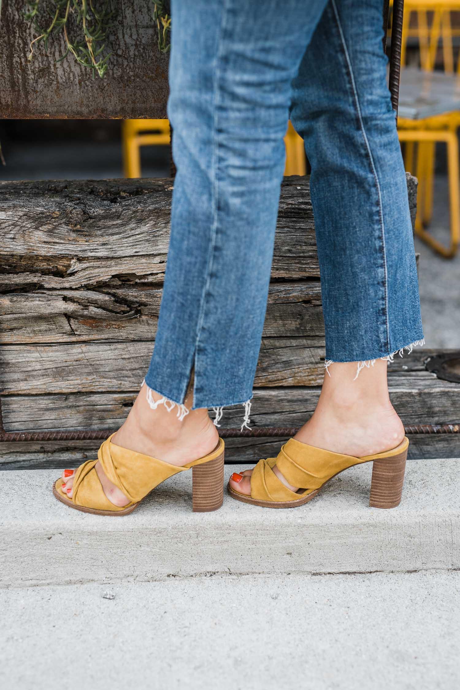 Transition colors help make the seasonal wardrobes blend together