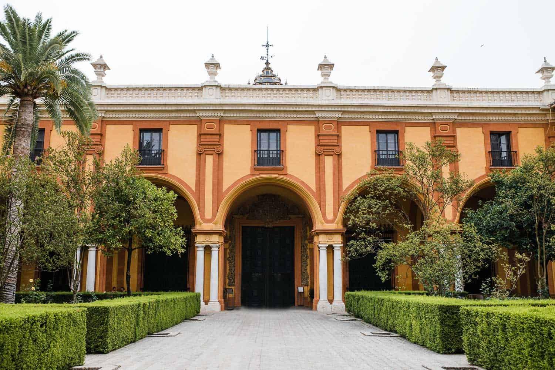 A European courtyard