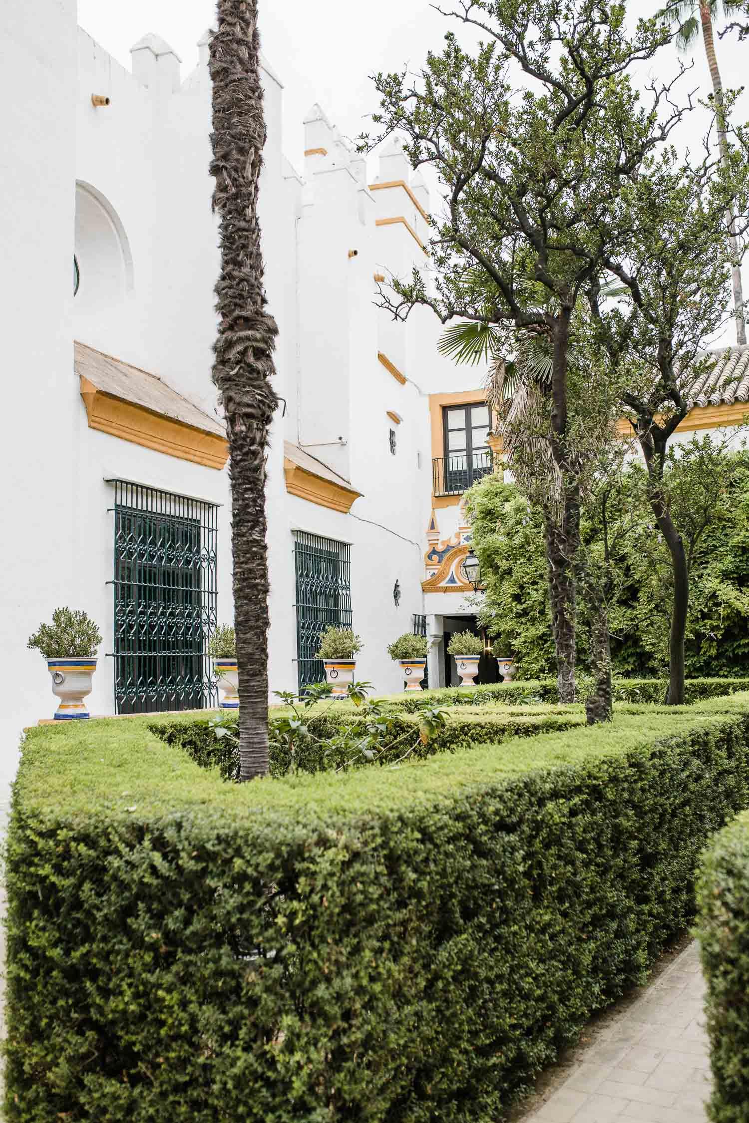 buildings in Sevilla