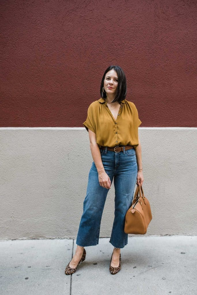 how to dress for fall when it's hot
