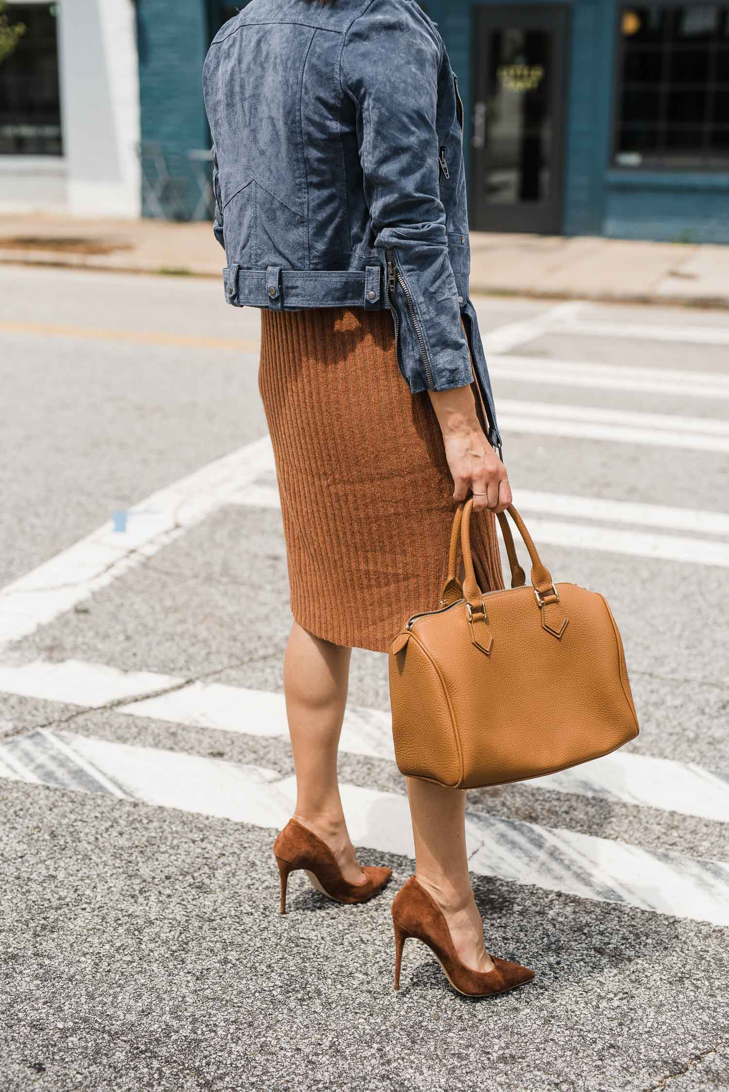 madewell insider event includes these shoes and this leather bag