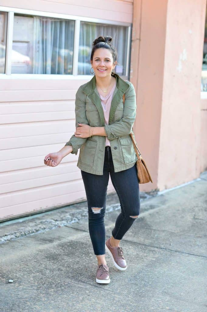 jacket to dress for fall