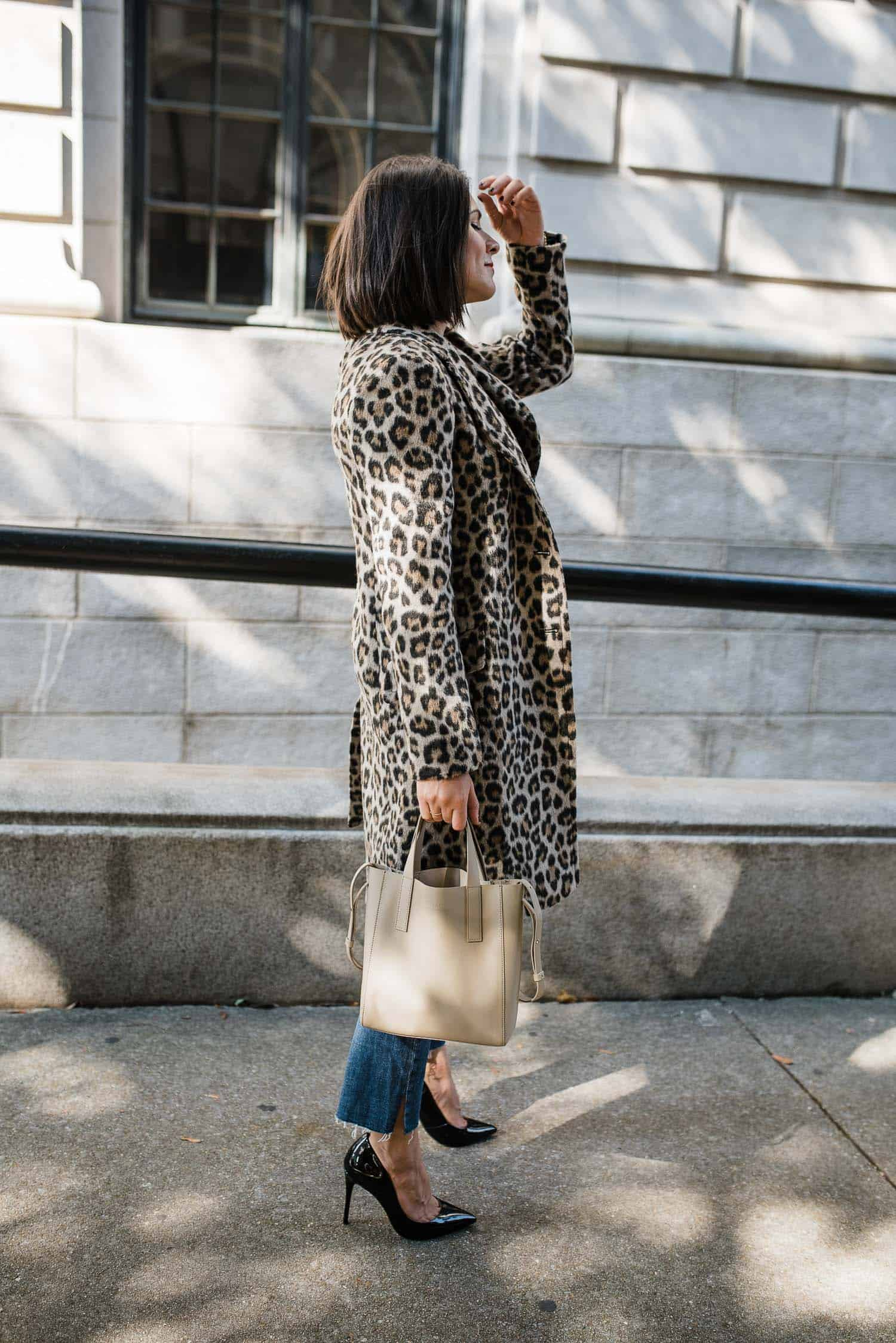 leopard coat for fall