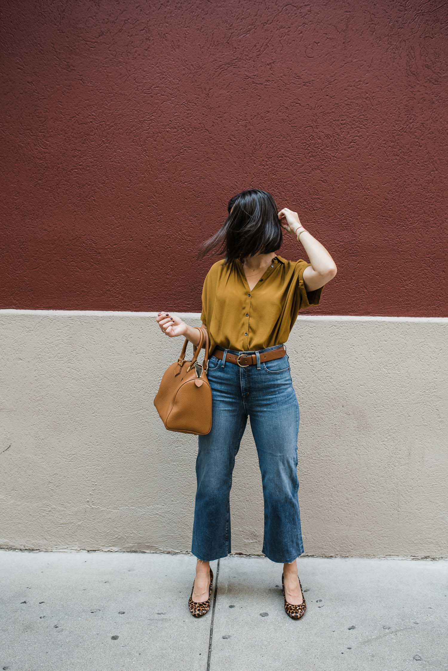 Fall Color Combination outfit idea