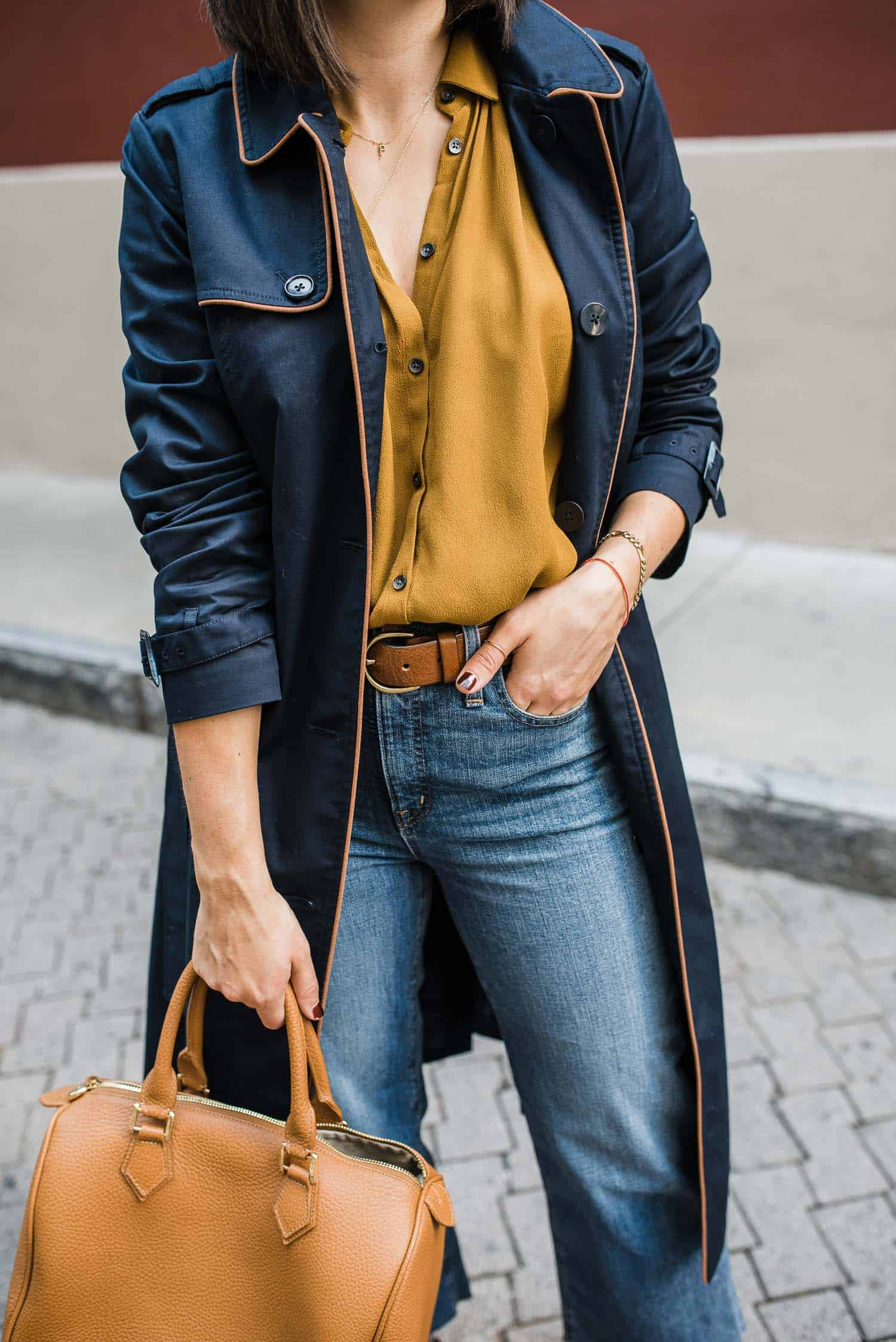 navy Fall Color Combination