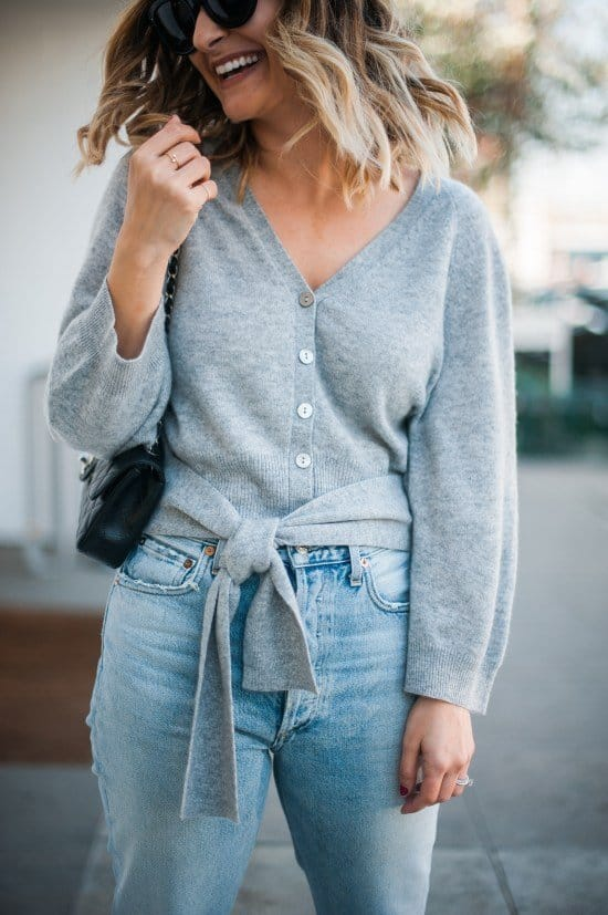 belted Sweater Looks For Fall