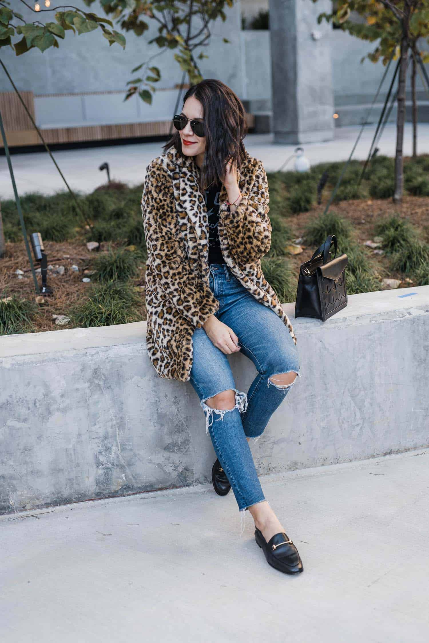 Faux Fur Coat fashion