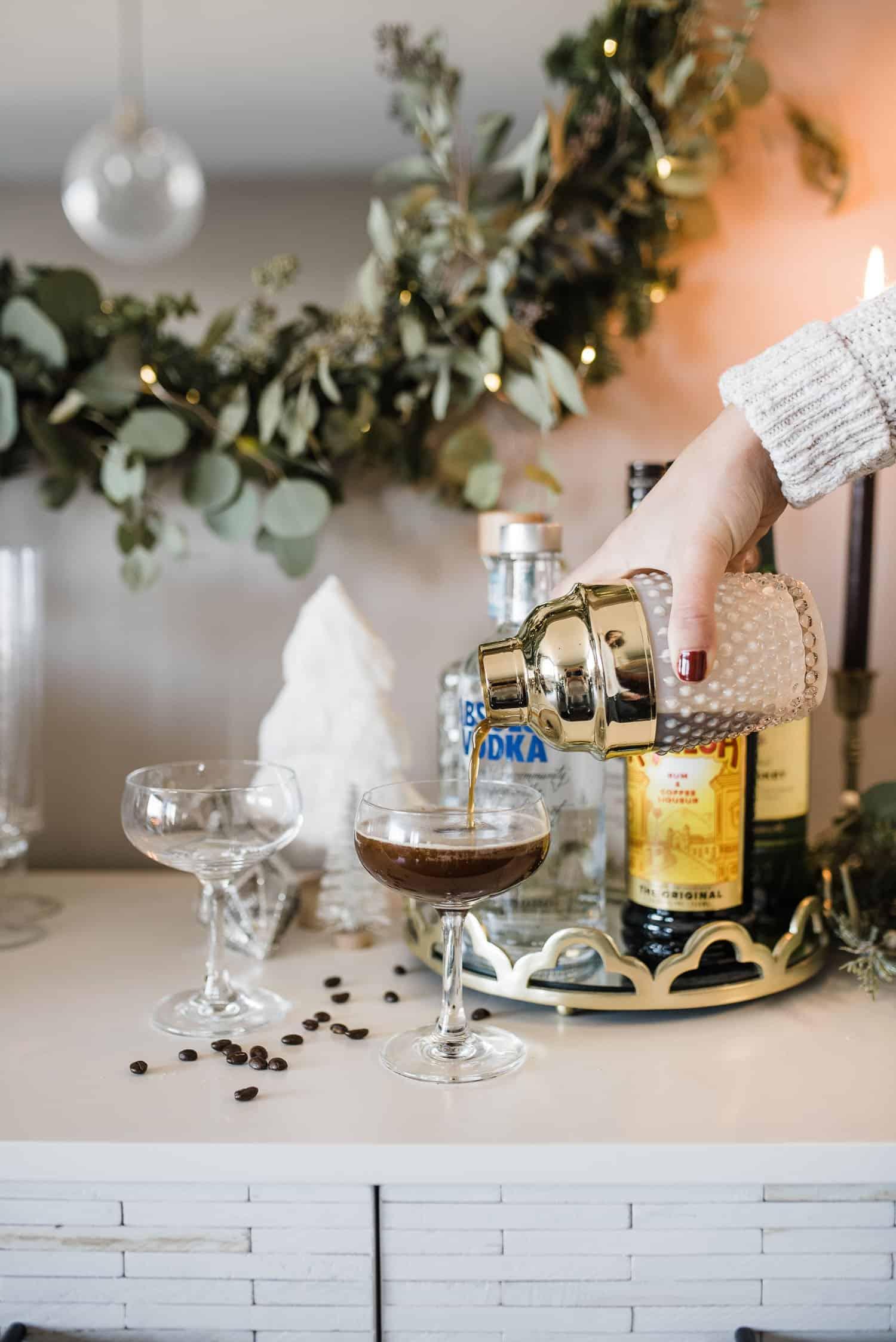 A Classic Espresso Martini