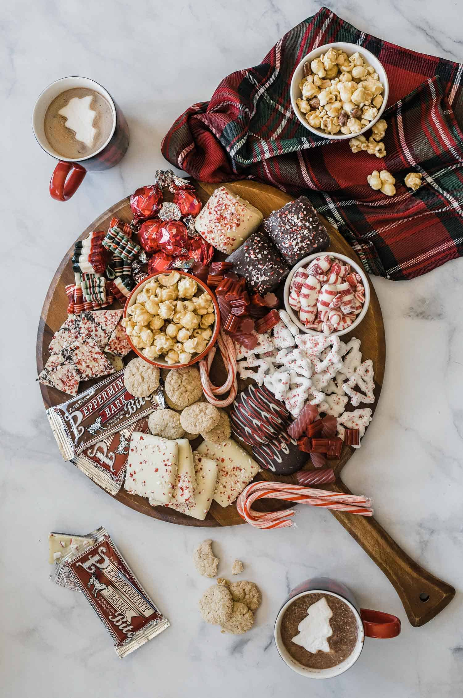 Holiday Candy Charcuterie Board