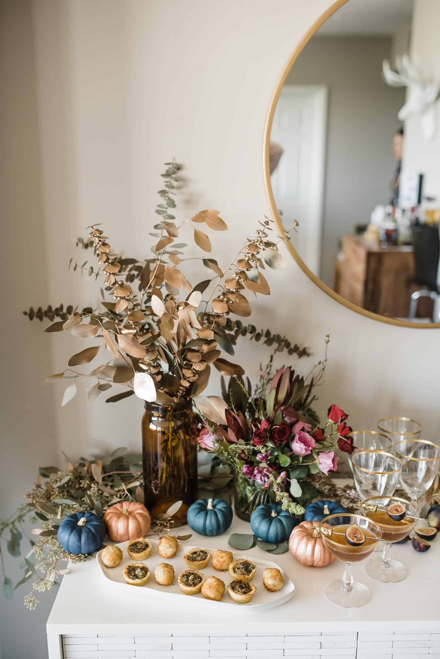 DIY Pumpkin Tablescape