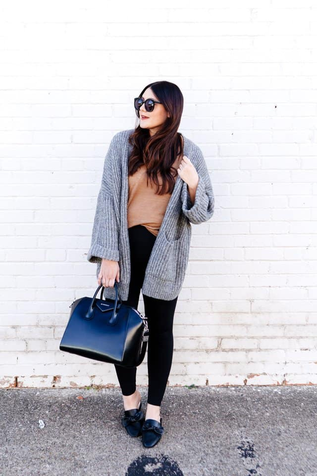 Oversized Cardigans + Comfy Tees