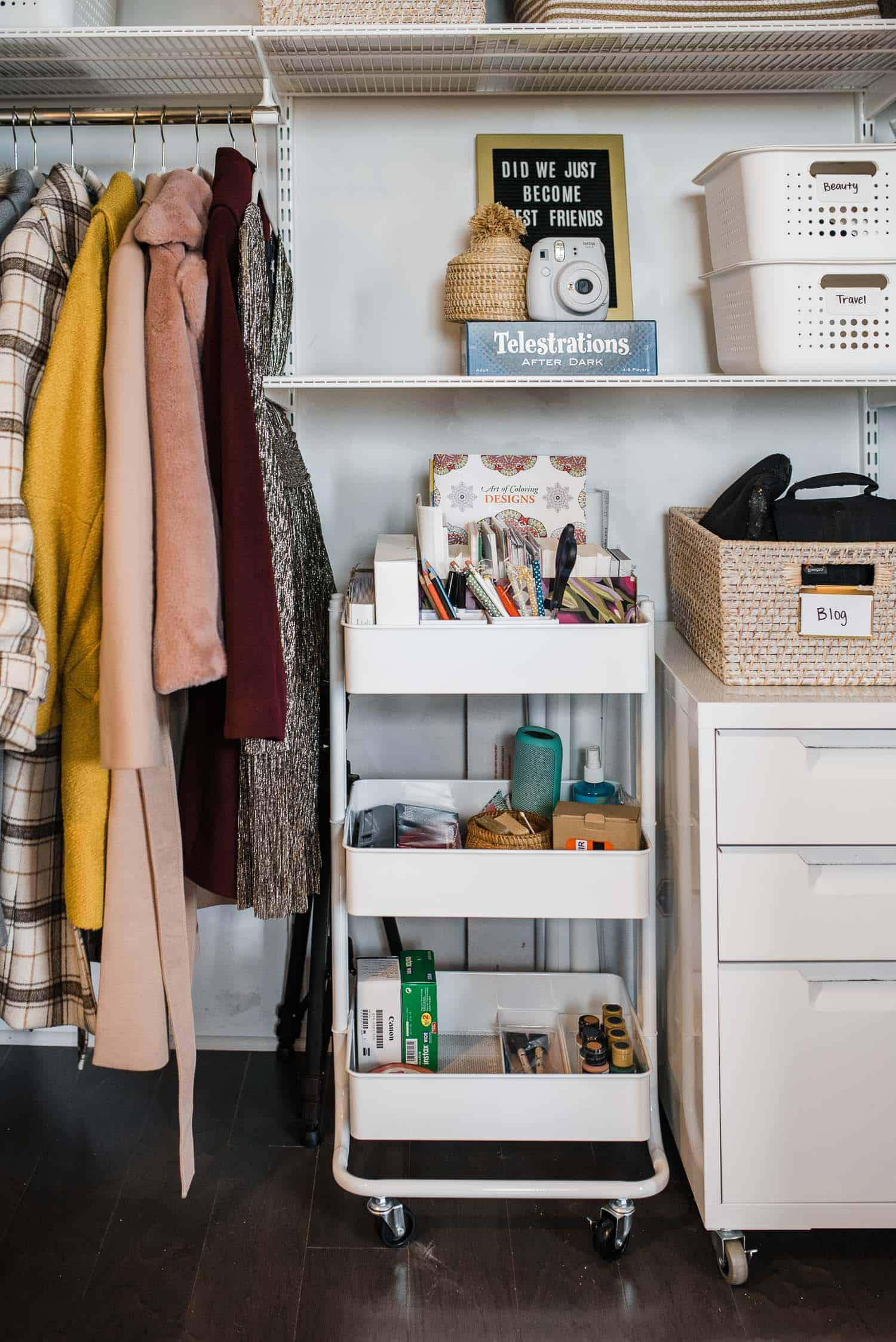 Closet Makeover Before & After