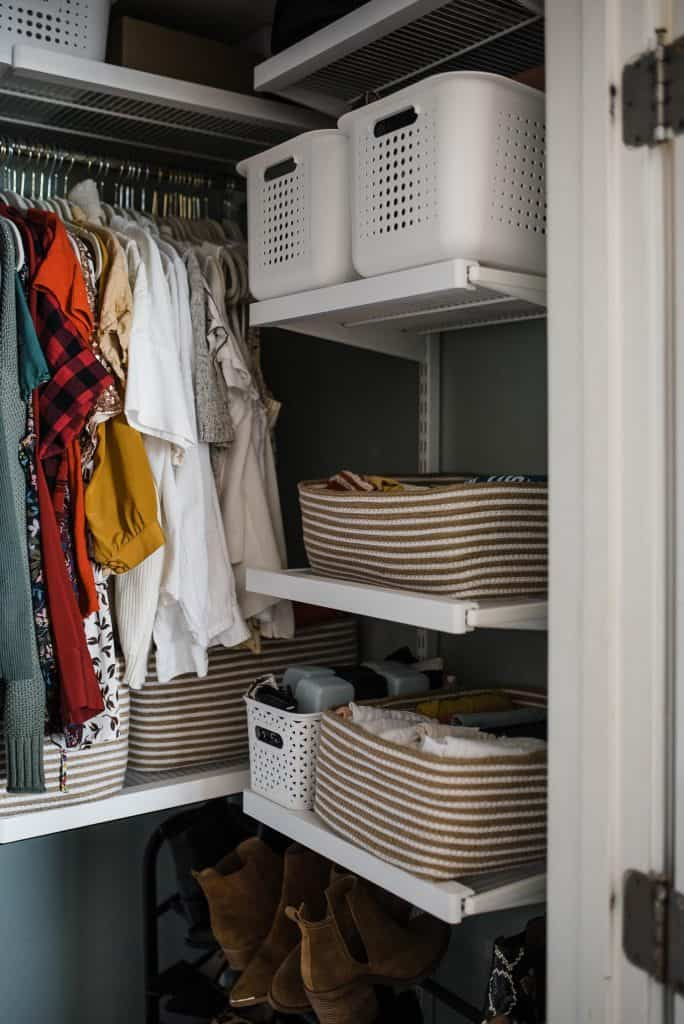 How To Do A Closet Makeover With The Container Store