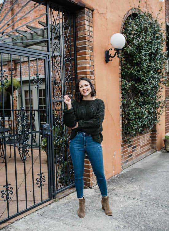 Jessica Wearing Everlane Denim