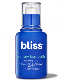 bliss Renew & Smooth Night Serum