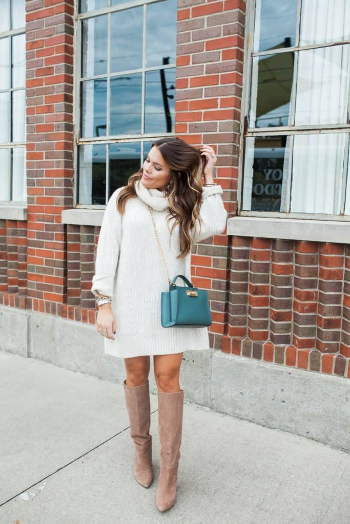 How To Wear Dresses In The Winter