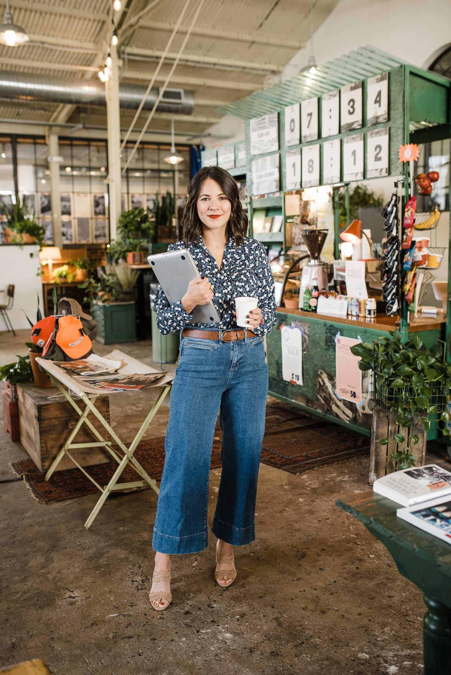 Styling Wide-Leg Crop Jeans Three Ways