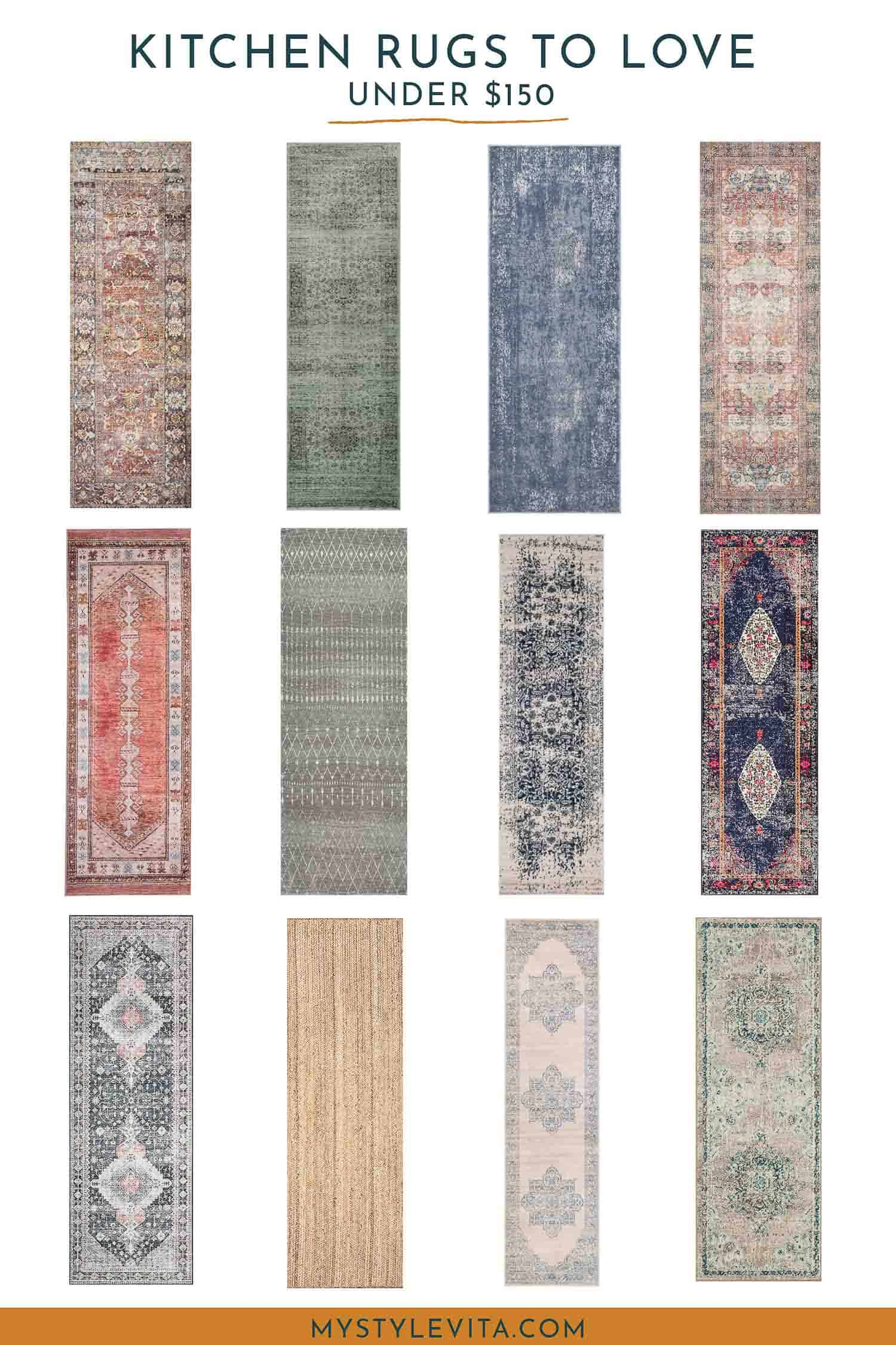 Kitchen Rugs Under $150
