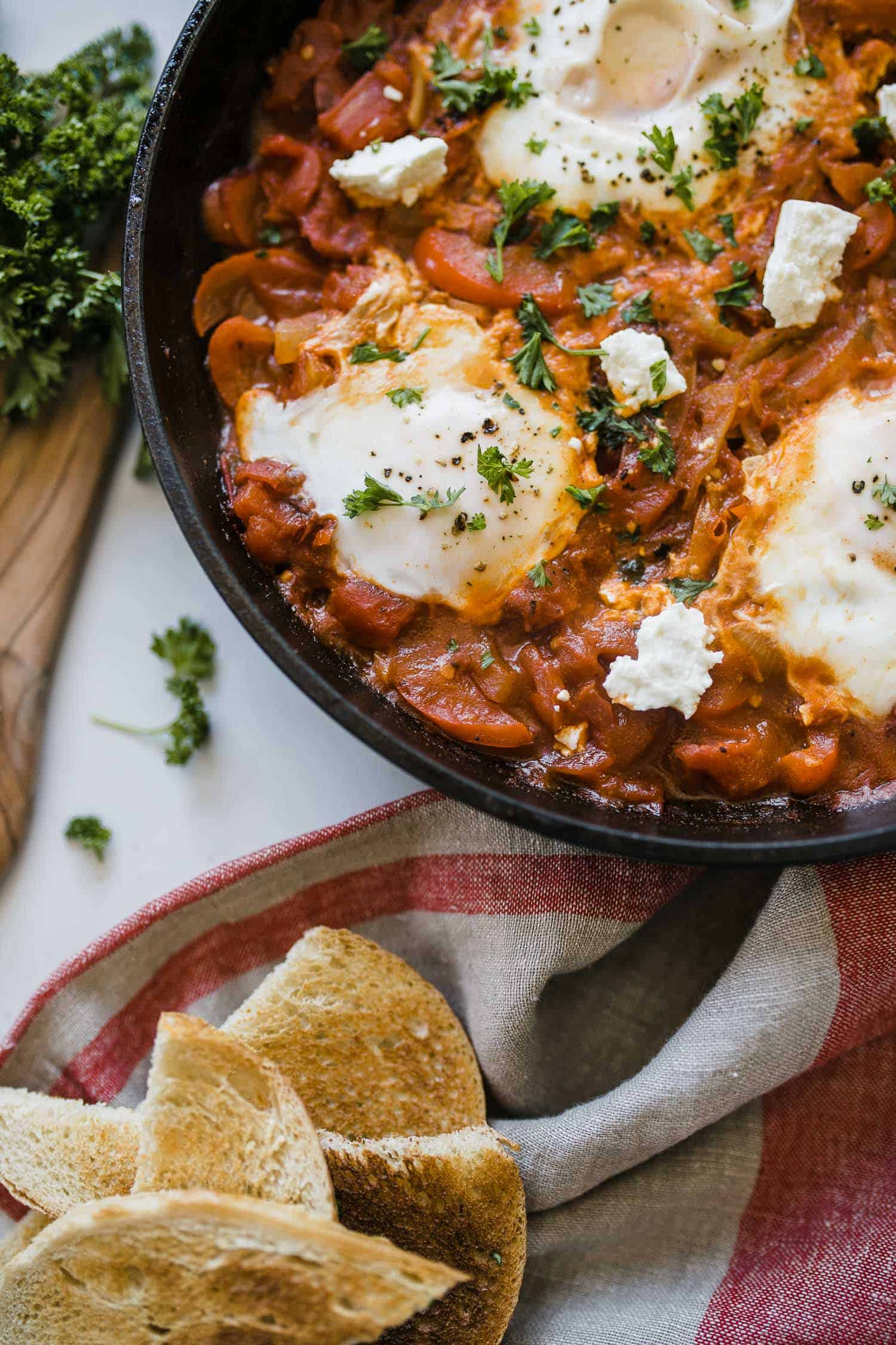 how to make shakshuka for breakfast