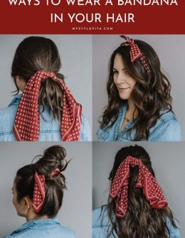 How To Wear A Bandana In Your Hair This Summer My Style Vita