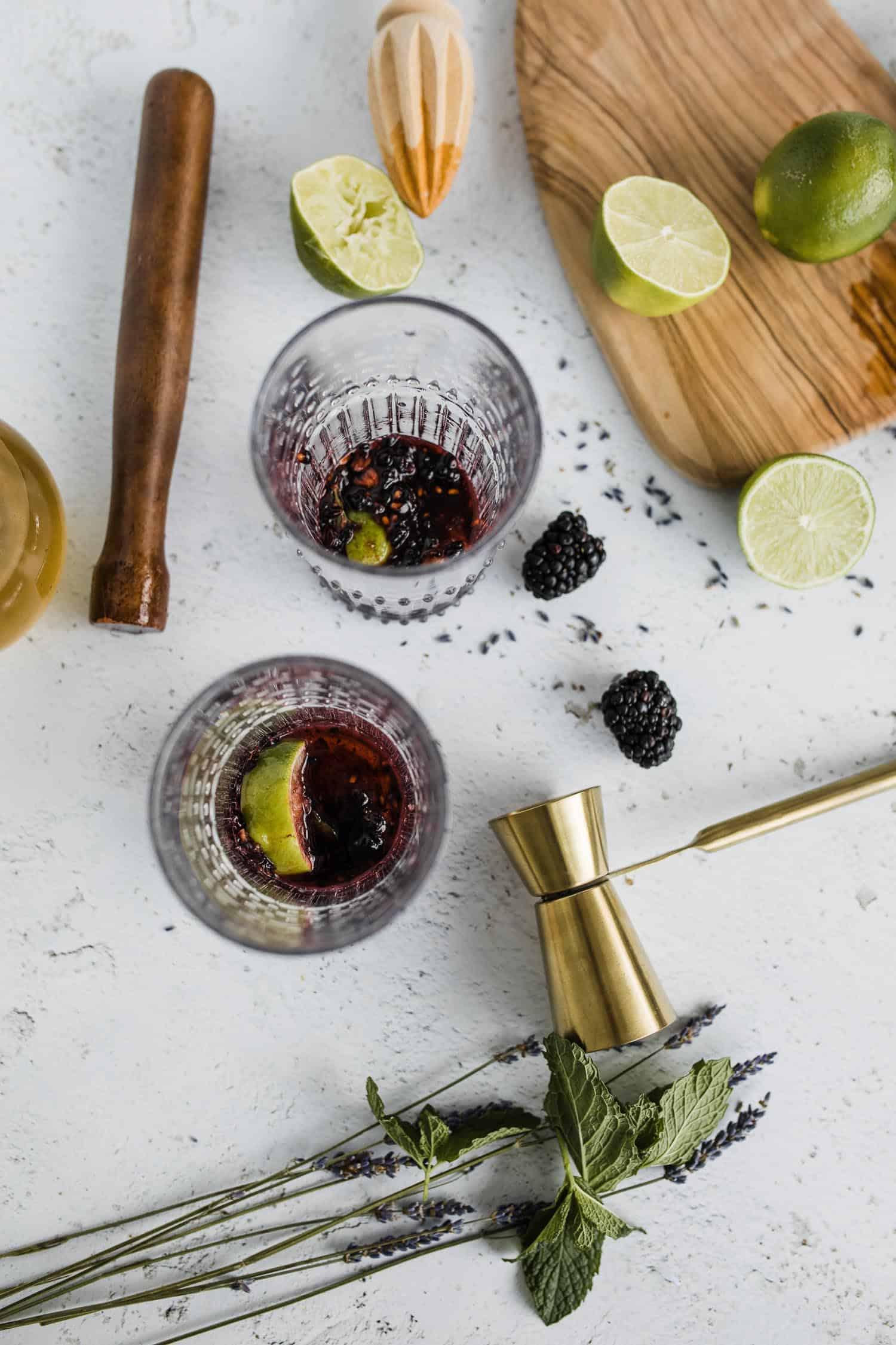 blackberry lavender mojito recipe