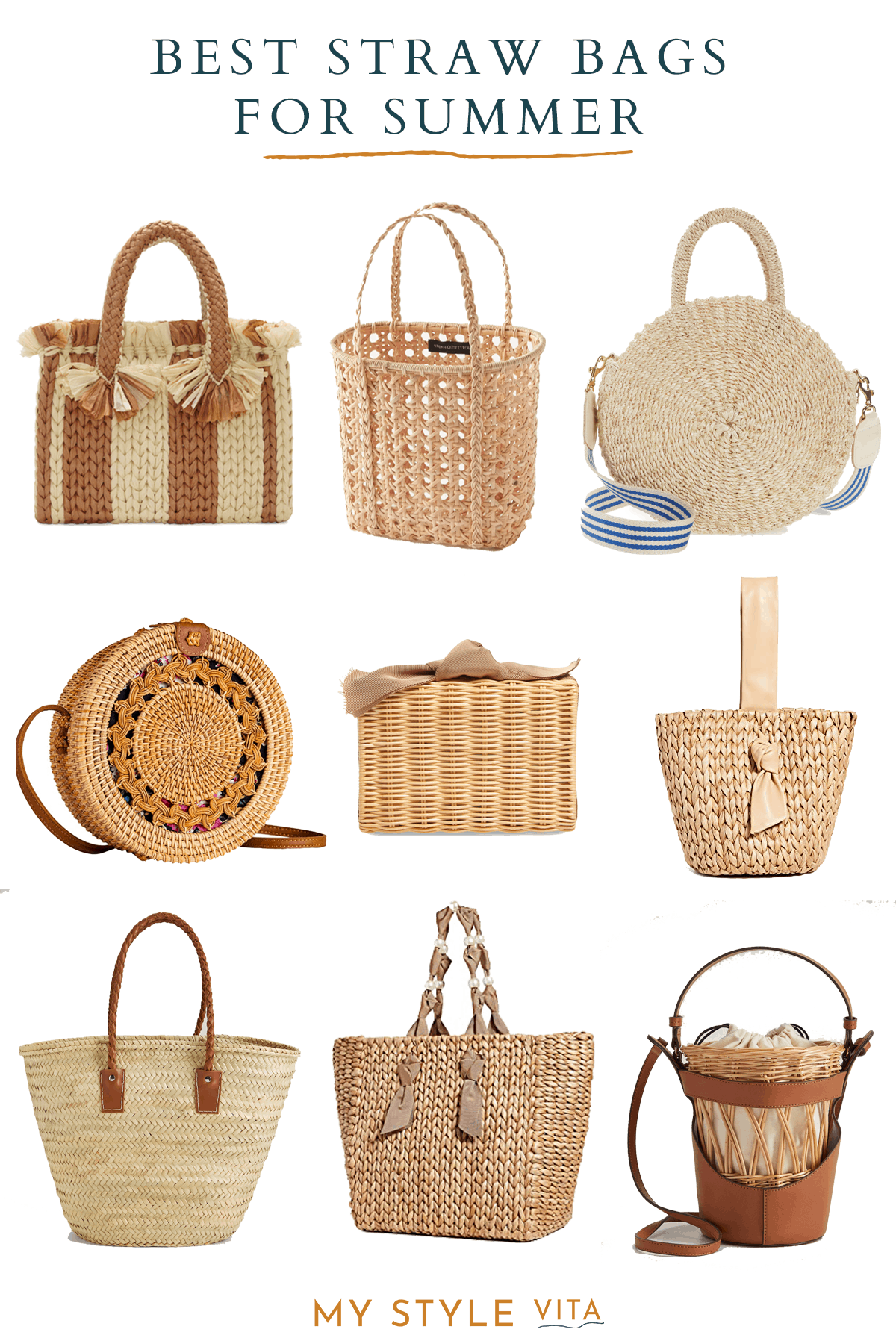 summer straw bags