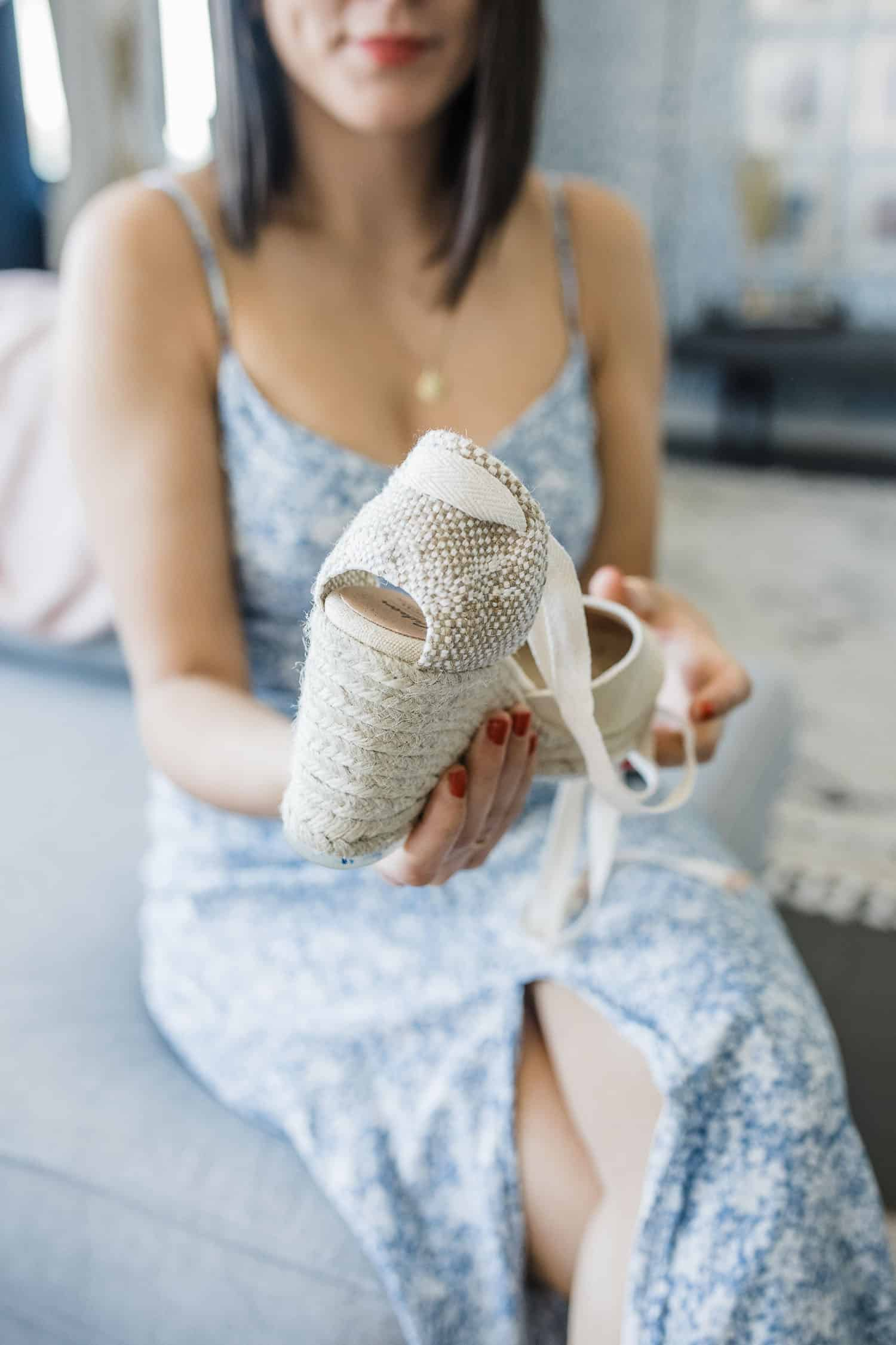 how to wear espadrilles for summer