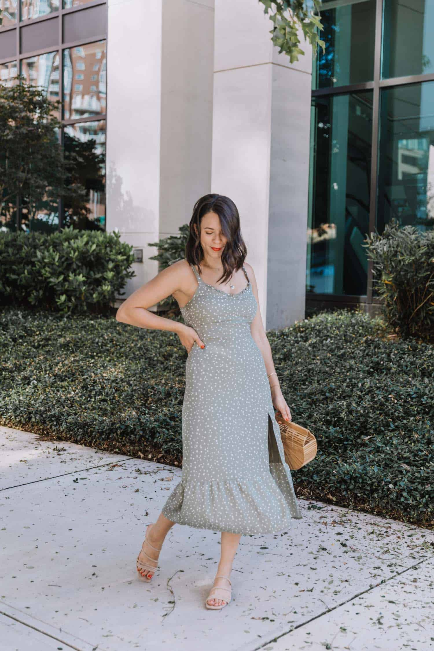 Midi dress for summer under $100