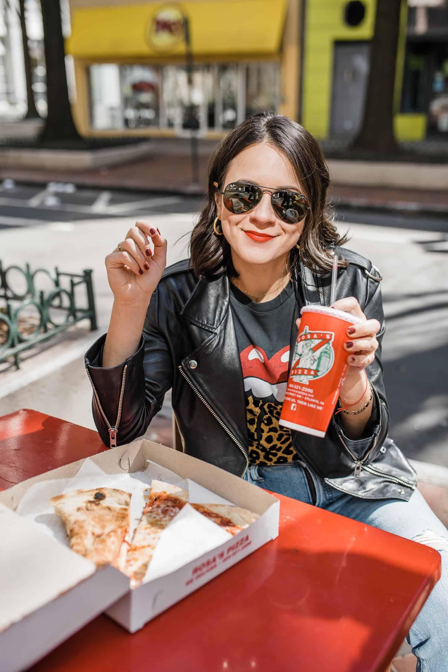 Best pizza in Atlanta according to style blogger, Jessica Camerata