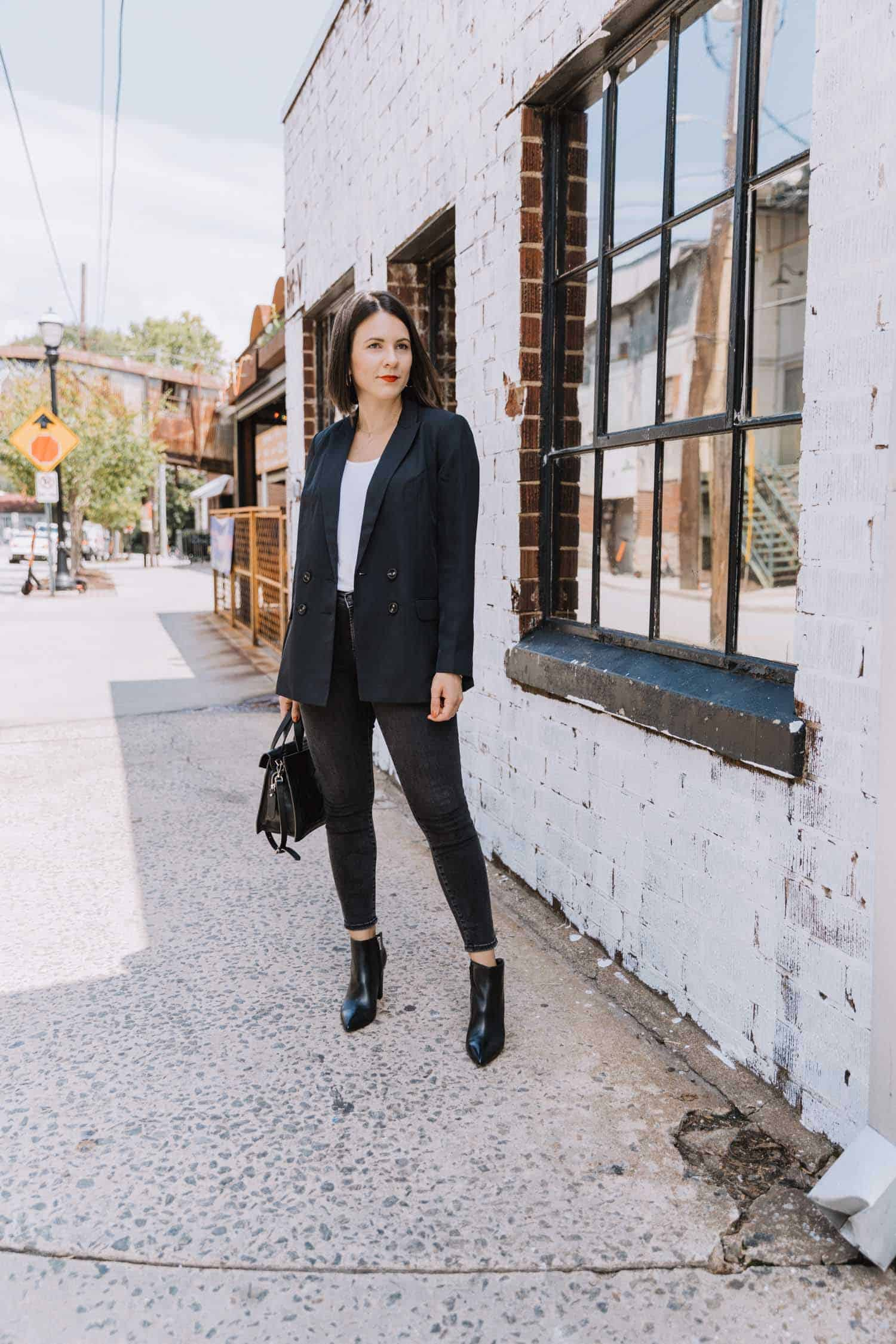 How To Style A Blazer fall winter