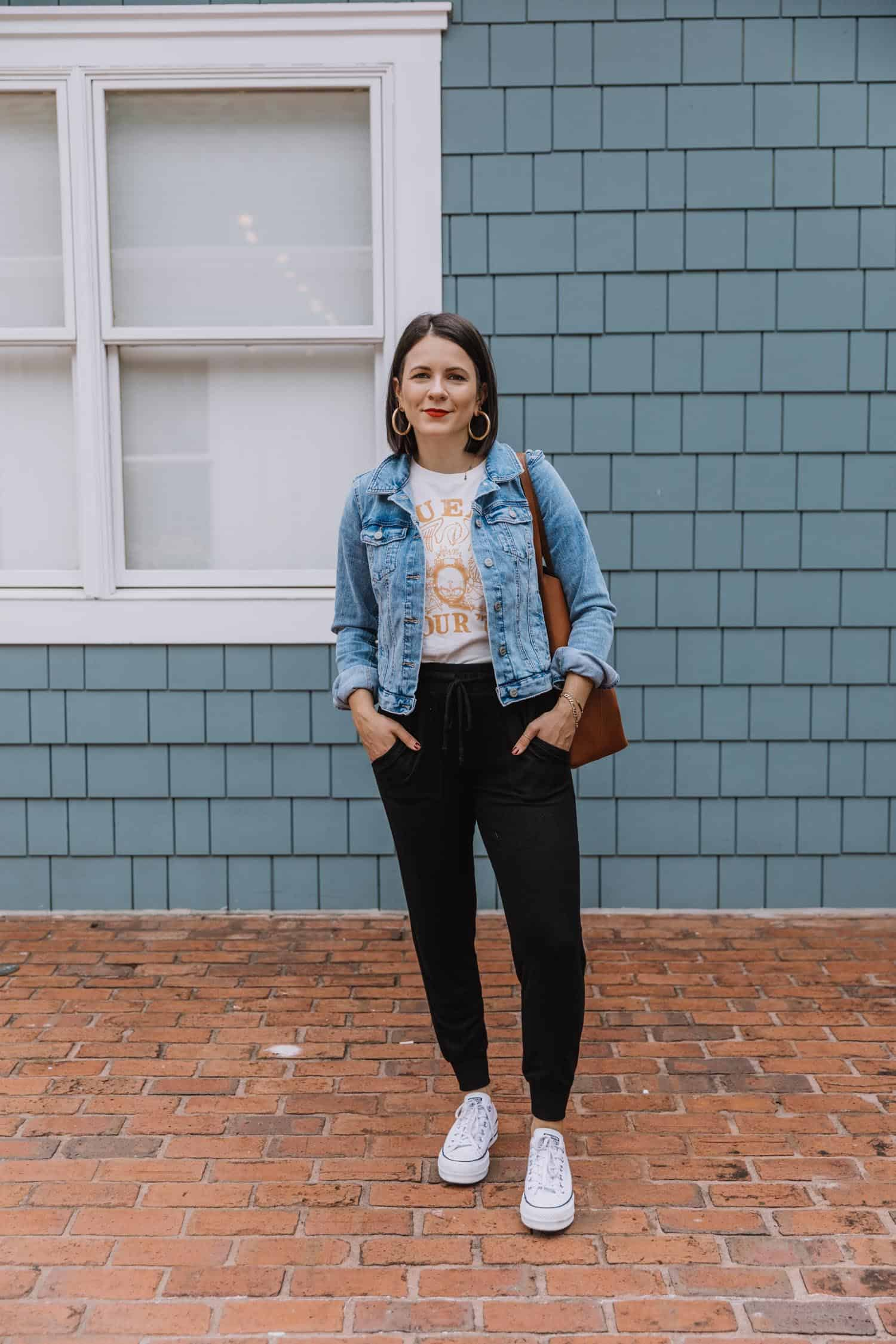 ways to style joggers