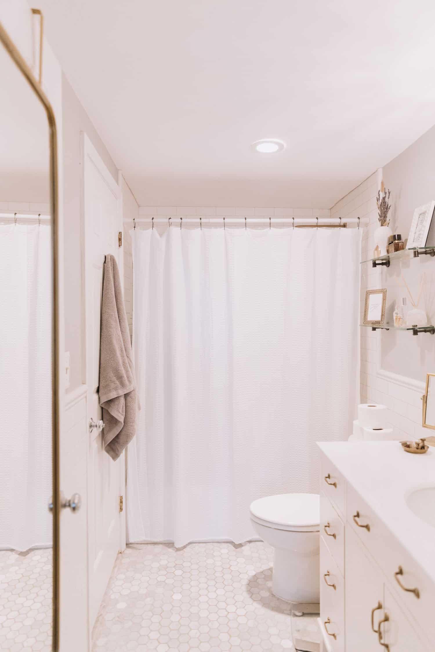 target casaluna collection, white bathroom