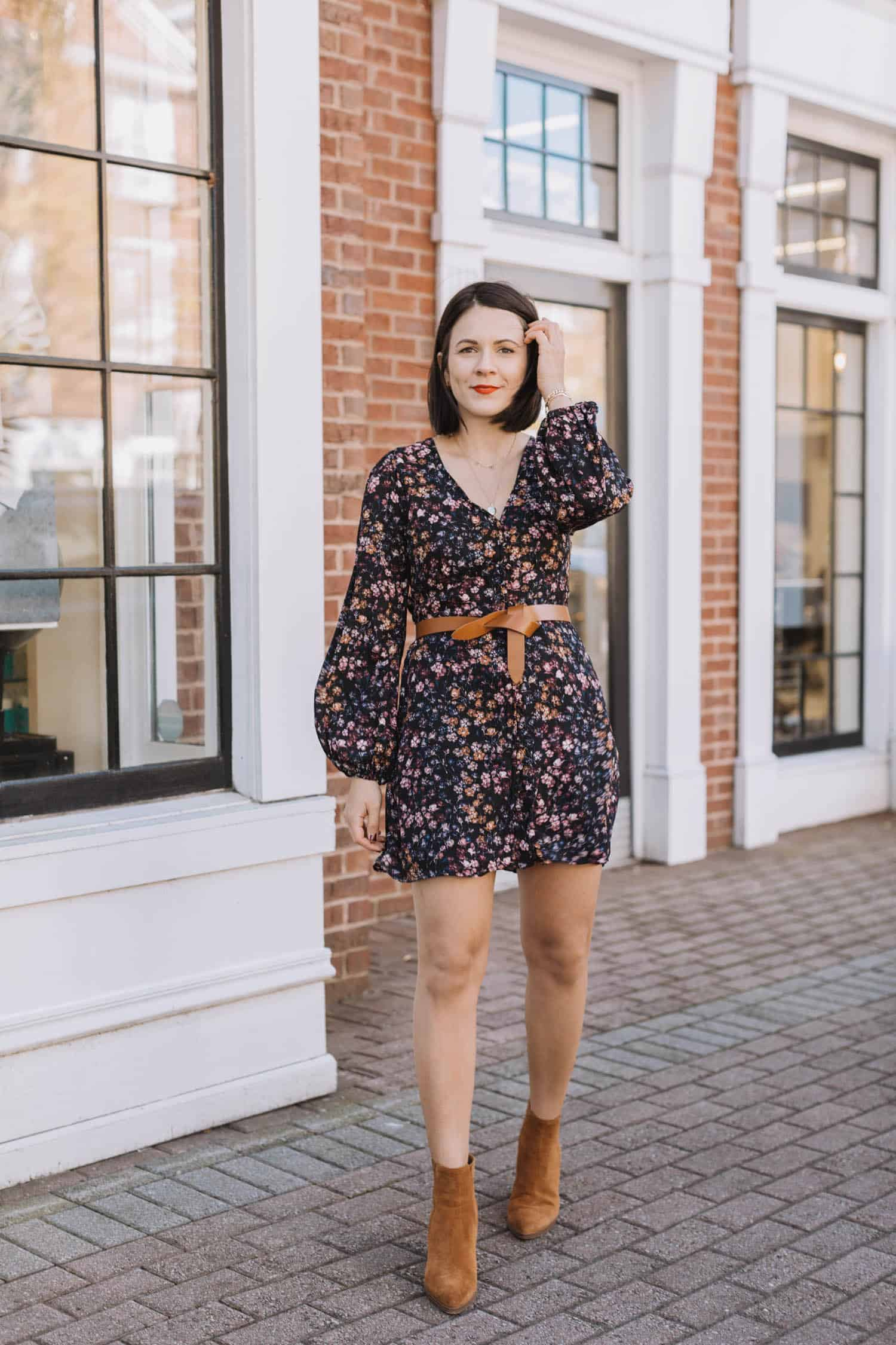 Floral Mini Dress Styled 3 Ways